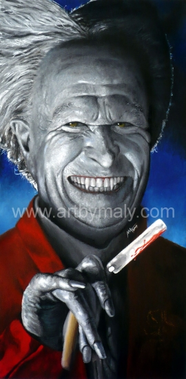 Gary Oldman por artbymaly